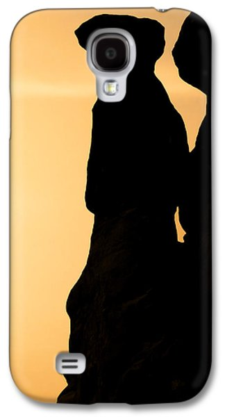 Surreal Landscape Galaxy S4 Cases - The Three Gossips - Arches National Park Galaxy S4 Case by Christine Till