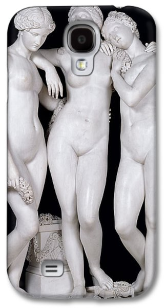 Neo Galaxy S4 Cases - The Three Graces, 1831 Marble See For Details 164658, 164659 Galaxy S4 Case by James Pradier