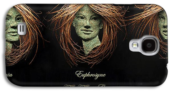 Figures Reliefs Galaxy S4 Cases - The Three Graces Galaxy S4 Case by Adam Long