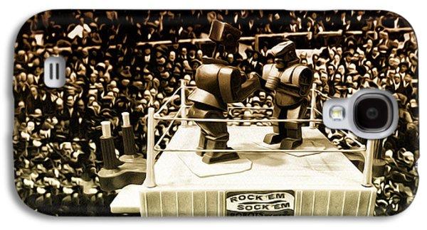 Boxer Digital Art Galaxy S4 Cases - The Thrilla in Toyvilla Galaxy S4 Case by Bill Cannon