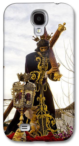 Holy Week Galaxy S4 Cases - The Throne of Christ during Holy week procession in Spain Galaxy S4 Case by Perry Van Munster