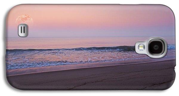 Sea Moon Full Moon Galaxy S4 Cases - The Tide Keeper Galaxy S4 Case by Bill  Wakeley
