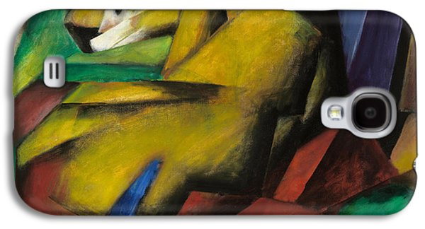 The Tiger Paintings Galaxy S4 Cases - The Tiger Galaxy S4 Case by Franz Marc