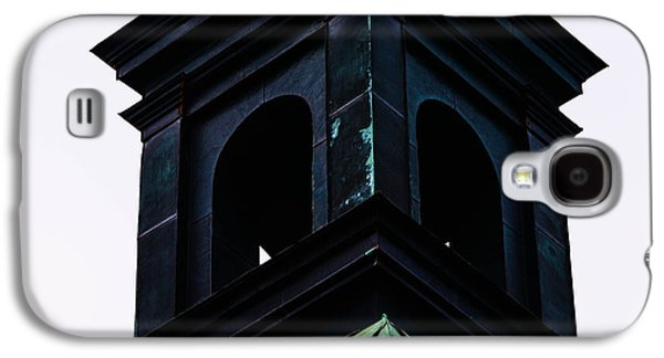 Copy Mixed Media Galaxy S4 Cases - The top of a church Galaxy S4 Case by Toppart Sweden