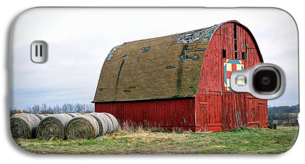The Trails Quilt Barn Galaxy S4 Case by Cricket Hackmann