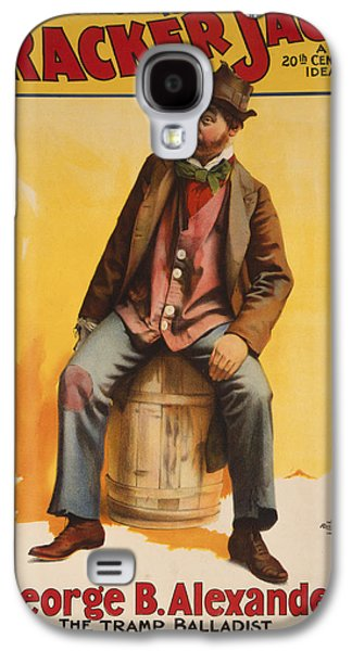 Entertainment Galaxy S4 Cases - The Tramp Balladist Galaxy S4 Case by Aged Pixel