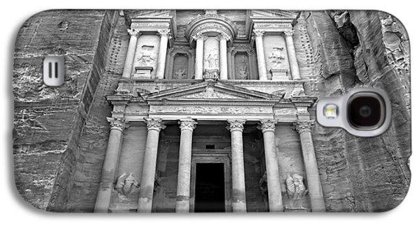 Petra Galaxy S4 Cases - The Treasury at Petra Galaxy S4 Case by Stephen Stookey