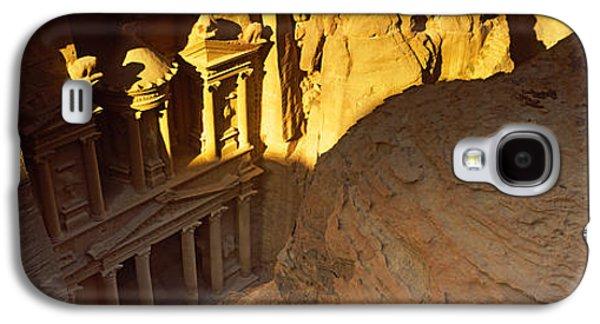 Petra Galaxy S4 Cases - The Treasury At Petra, Wadi Musa, Jordan Galaxy S4 Case by Panoramic Images