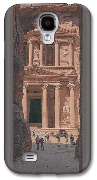 The Treasury Petra Jordan Galaxy S4 Case by Richard Harpum