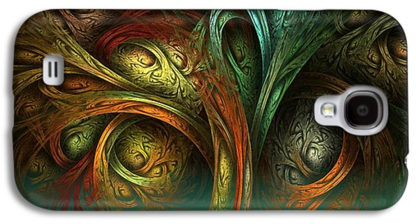 The Tree Of Life Galaxy S4 Case by Sandra Bauser Digital Art