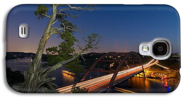 The Tree Over The Pennybacker Bridge Galaxy S4 Case by Tim Stanley