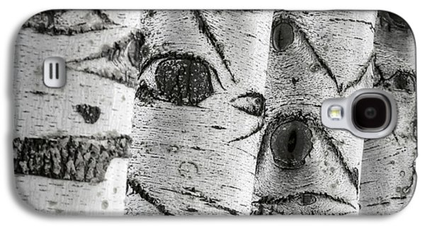 Ghostly Galaxy S4 Cases - The Trees Have Eyes Galaxy S4 Case by Wim Lanclus