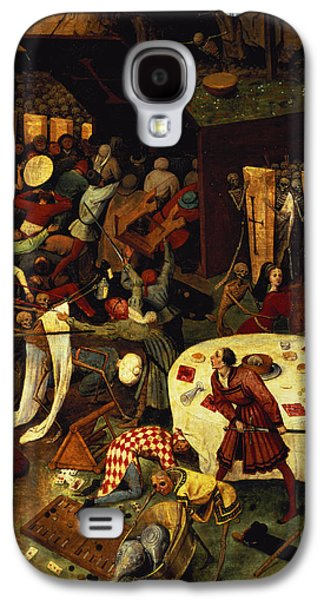 The Triumph Of Death, Detail Of The Lower Right Section, 1562  Galaxy S4 Case by Pieter the Elder Bruegel