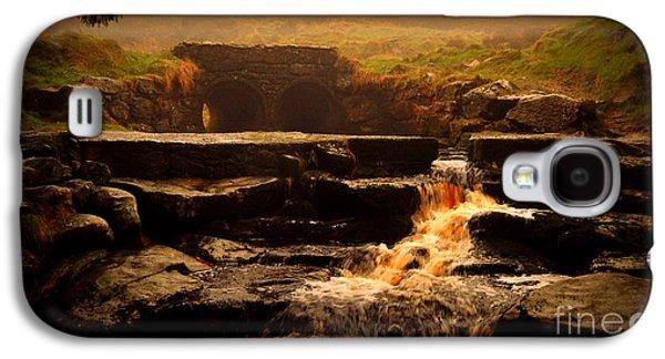 People Pyrography Galaxy S4 Cases - The Tunnel  Galaxy S4 Case by Ilona Asaciova
