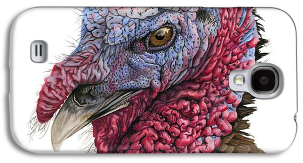 Wild Turkey Galaxy S4 Cases - The Turkey Galaxy S4 Case by Sarah Batalka