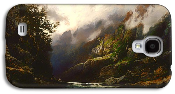 Beautiful Creek Paintings Galaxy S4 Cases - The Upper Nepean  Galaxy S4 Case by WC Piguenit