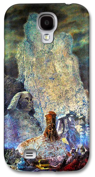 Ancient Galaxy S4 Cases - The Valley of Sphinks Galaxy S4 Case by Henryk Gorecki