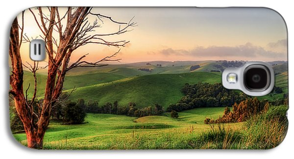 Farmers Field Galaxy S4 Cases - The Valley Galaxy S4 Case by Ray Warren