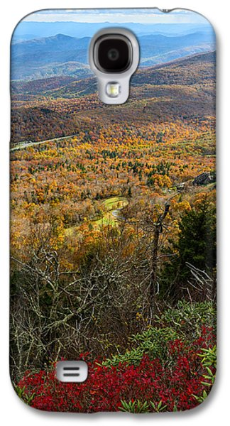 Carolina Galaxy S4 Cases - The View from Grandfather Mountain Galaxy S4 Case by Andres Leon