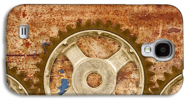 Mechanism Galaxy S4 Cases - The Vintage Gears Galaxy S4 Case by Martin Bergsma
