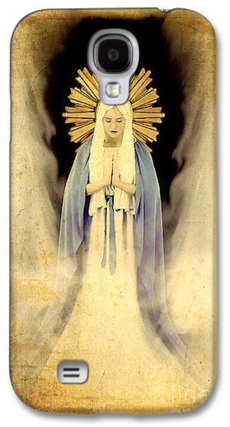 Holy Mother Galaxy S4 Cases - The Virgin Mary Gratia plena Galaxy S4 Case by Cinema Photography