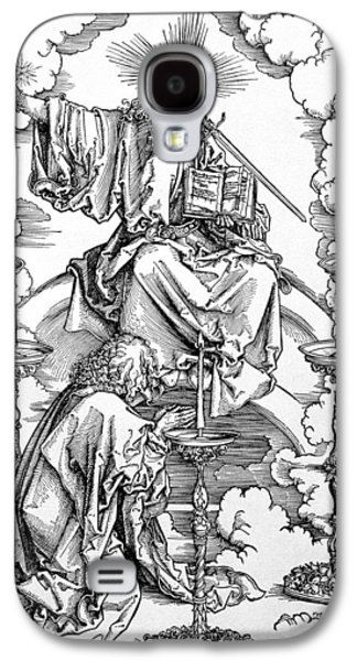 The Vision Of The Seven Candlesticks From The Apocalypse Or The Revelations Of St. John The Divine Galaxy S4 Case by Albrecht Durer or Duerer