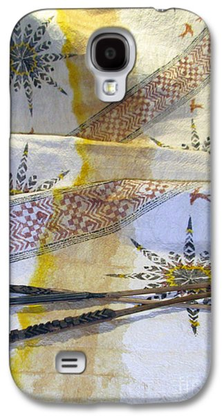 Contemporary Abstract Tapestries - Textiles Galaxy S4 Cases - The Voice Galaxy S4 Case by Dalani Tanahy