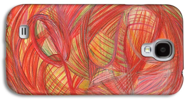 Thought Drawings Galaxy S4 Cases - The voice of Daring Galaxy S4 Case by Kelly K H B