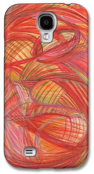 Thought Drawings Galaxy S4 Cases - The voice of Daring-Vertical Galaxy S4 Case by Kelly K H B