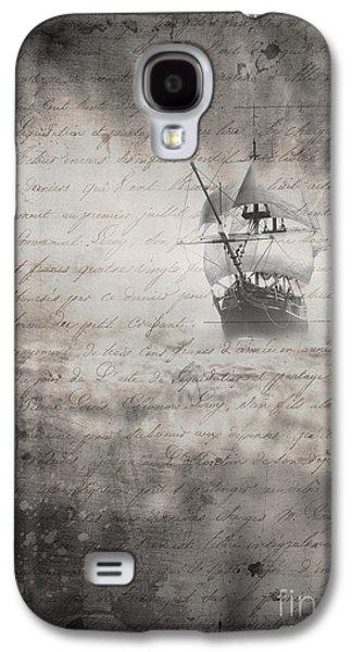 Mist Galaxy S4 Cases - The Voyage Galaxy S4 Case by Edward Fielding