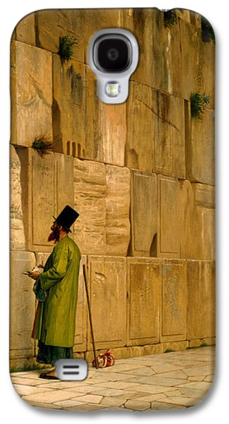 Gerome Galaxy S4 Cases - The Wailing Wall Galaxy S4 Case by Jean-Leon Gerome