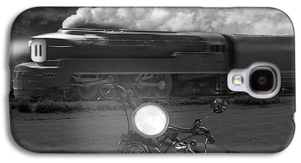 Smoke Digital Galaxy S4 Cases - The Wait - Panoramic Galaxy S4 Case by Mike McGlothlen
