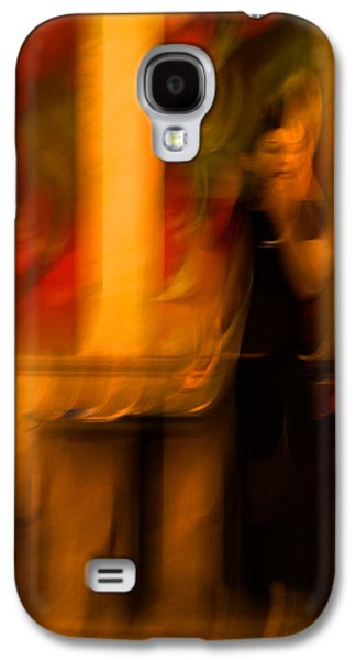 Poster Art Galaxy S4 Cases - The waiting girl Galaxy S4 Case by Jb Atelier