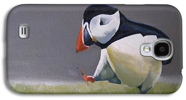 Occupy Beijing Galaxy S4 Cases - The Walking Puffin Galaxy S4 Case by Eric Burgess-Ray