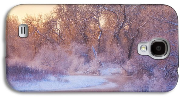 Winter Prints Galaxy S4 Cases - The Warmth of Winter Galaxy S4 Case by Darren  White