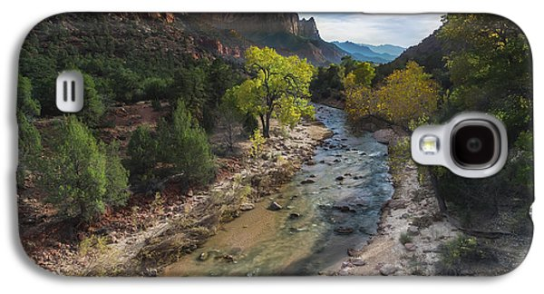 The Watchman In Zion National Park Galaxy S4 Case by Larry Marshall