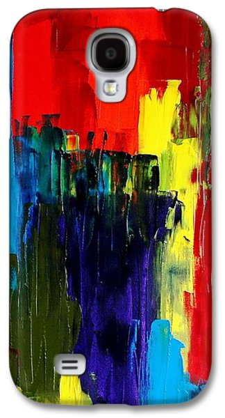 Colorful Abstract Galaxy S4 Cases - The Waterfall Galaxy S4 Case by Mark Watson