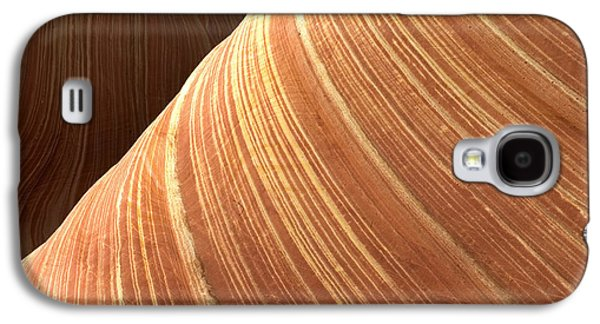 Nature Abstracts Galaxy S4 Cases - The Wave Vermillion Cliffs Arizona Galaxy S4 Case by Fritz Polking