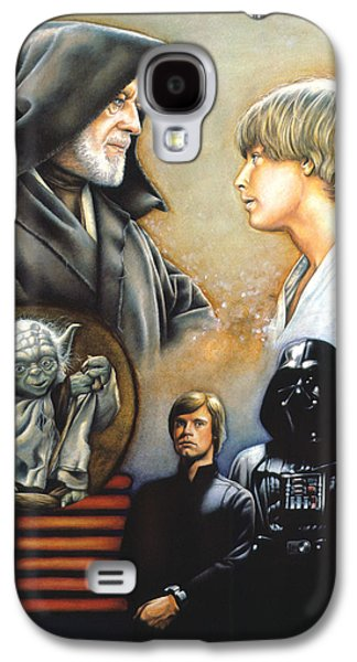 Knight Galaxy S4 Cases - The Way of the Force Galaxy S4 Case by Edward Draganski