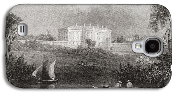 White House Galaxy S4 Cases - The White House, Washington D.c., United States Of America In 1860.  From Edward Vii His Life Galaxy S4 Case by Bridgeman Images