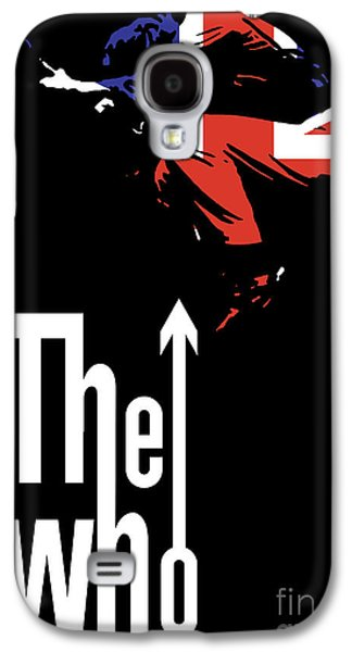 Famous Artist Galaxy S4 Cases - The Who No.01 Galaxy S4 Case by Caio Caldas