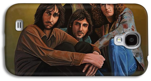 Power Paintings Galaxy S4 Cases - The Who Galaxy S4 Case by Paul  Meijering
