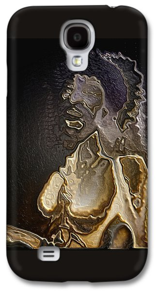 Abstract Digital Art Galaxy S4 Cases - Torquemada portrait By Quim Abella Galaxy S4 Case by Joaquin Abella