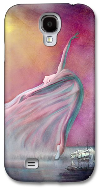 Digital Galaxy S4 Cases - The Wind Fairy Galaxy S4 Case by Angela A Stanton