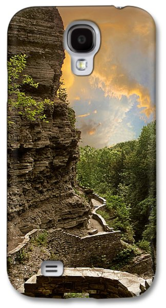 The Winding Trail Galaxy S4 Case by Jessica Jenney