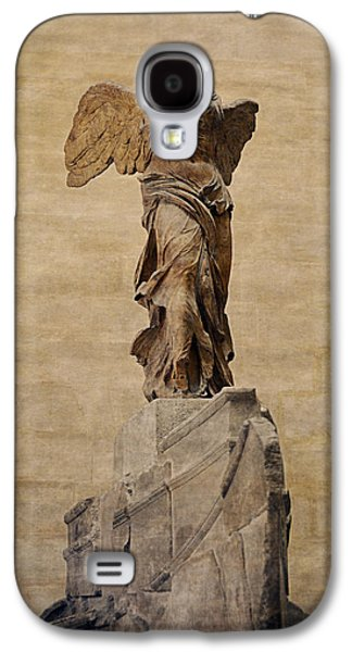 Nike Digital Galaxy S4 Cases - The Winged Victory Of Samothrace Galaxy S4 Case by Maria Angelica Maira