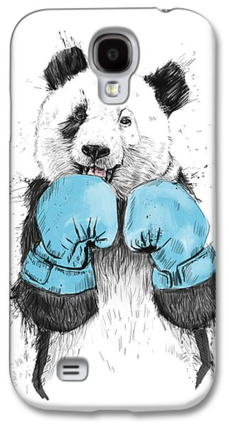 Boxer Galaxy S4 Cases - The Winner Galaxy S4 Case by Balazs Solti