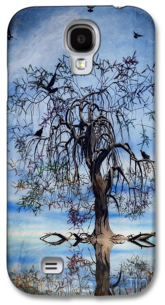 Wishes Galaxy S4 Cases - The Wishing Tree Galaxy S4 Case by John Edwards