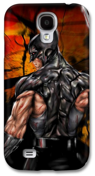 Pete Tapang Galaxy S4 Cases - The Wolverine Galaxy S4 Case by Pete Tapang