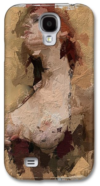 Innocence Mixed Media Galaxy S4 Cases - The Woman in you Galaxy S4 Case by Stefan Kuhn
